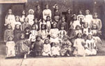 School fancy dress, about 1900-1905